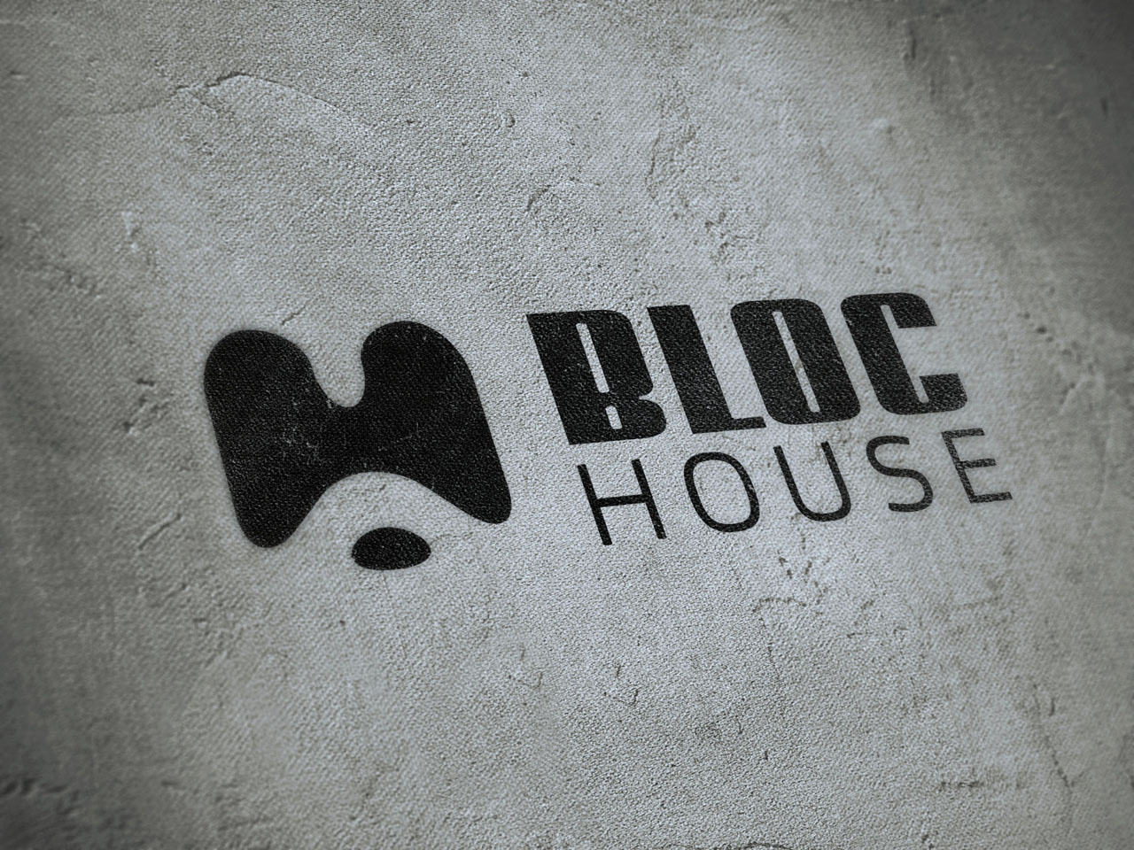 Logo Design Bloc-House Graz