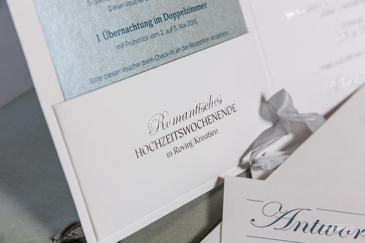 Hochzeitspapeterie Karin & Hermann